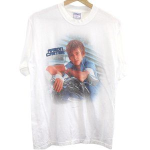 C80 Vintage All Sport Aaron Carter Graphic Shirt